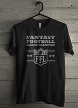 Fantasy Football Trophy League Championship Men's T-Shirt - Custom (661) - $19.12+