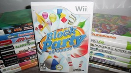 Block Party (Nintendo Wii, 2008) - $8.99