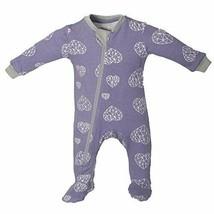ZippyJamz Organic Baby Footed PJs w/Inseam Zipper ~ Heartbreaker 18-24 M - $29.99
