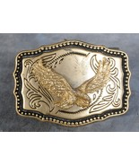 """Flying Gold Eagle Buckle Silver 2 1/4"""" x 3"""" - $2.00"""