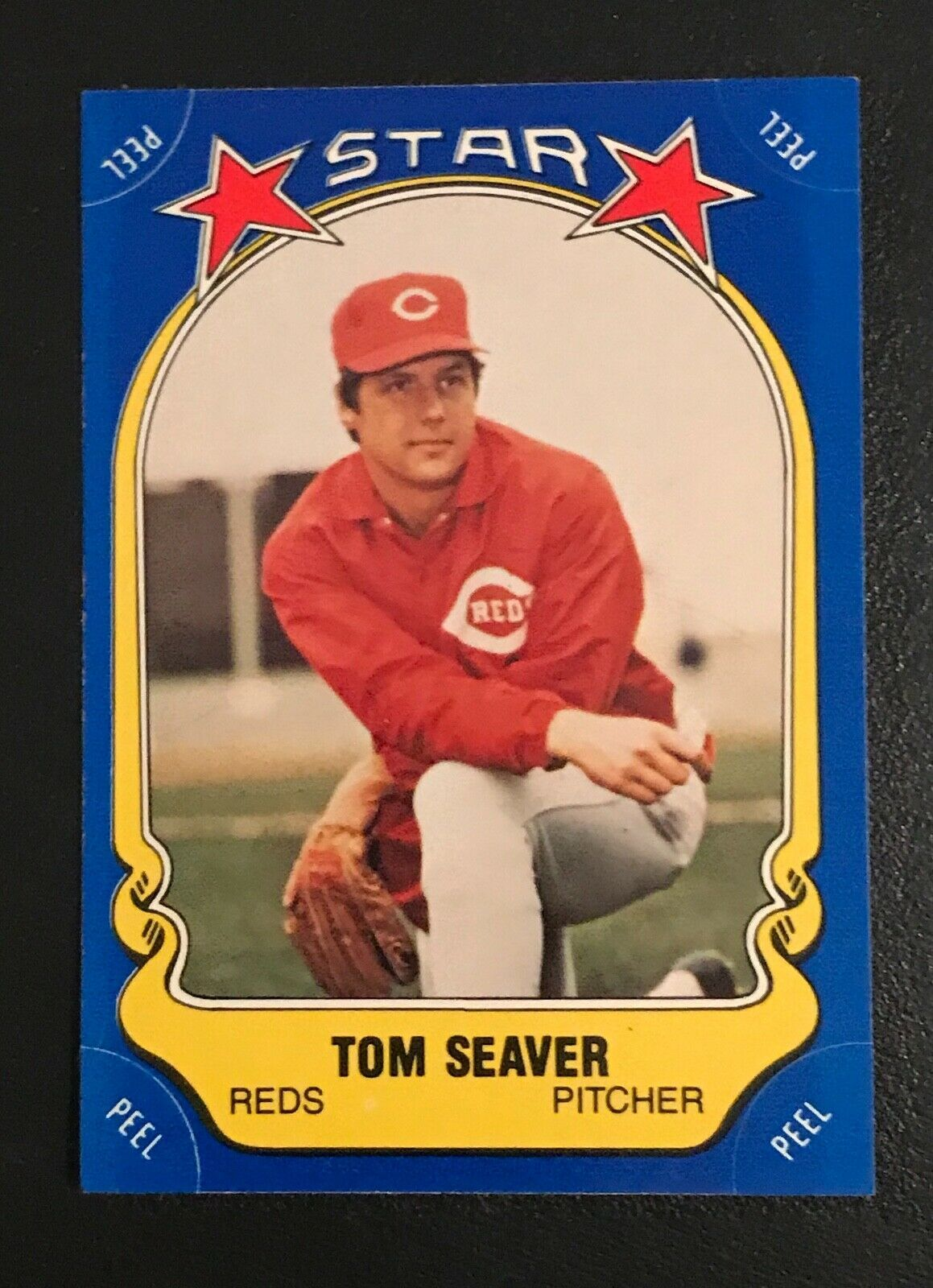 Primary image for 1981 Fleer Star Sticker Tom Seaver #49  REDS