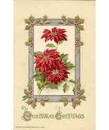 Christmas Greetings  Vintage John Winsch Post Card - $4.00