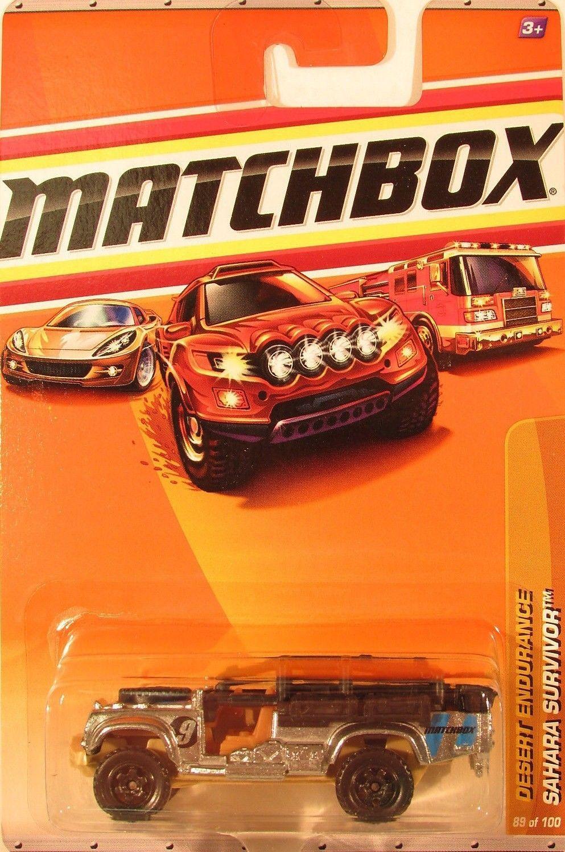Matchbox 2010 MBX #89 Desert Endurance Sahara Survivor Silver