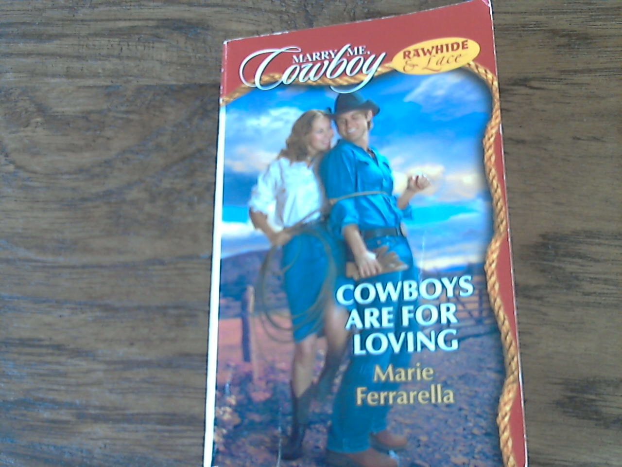 Cowboys are for Loving By Marie Ferrarella (1998 Paperback)