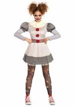 Leg Avenue Effrayant Clown It Pennywise Robe Adulte Femmes Déguisement Halloween image 2