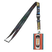 Back To The Future Movie VHS Tape ID Badge Holder Keychain Lanyard - $9.99