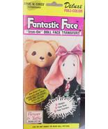 Iron-on Stuffed Animal Faces Bear & Rabbit 3 sizes of each. - $5.00