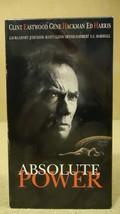 Warner Bros. Absolute Power VHS Movie  * Plastic * - $4.69