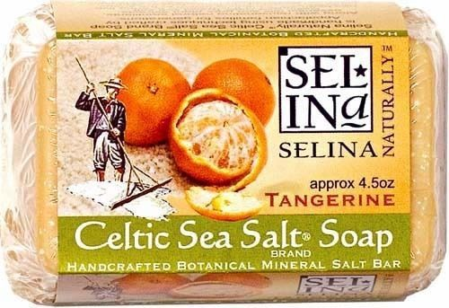 CELTIC SEA SALT SOAP TANGERINE 4.5 OZ BAR