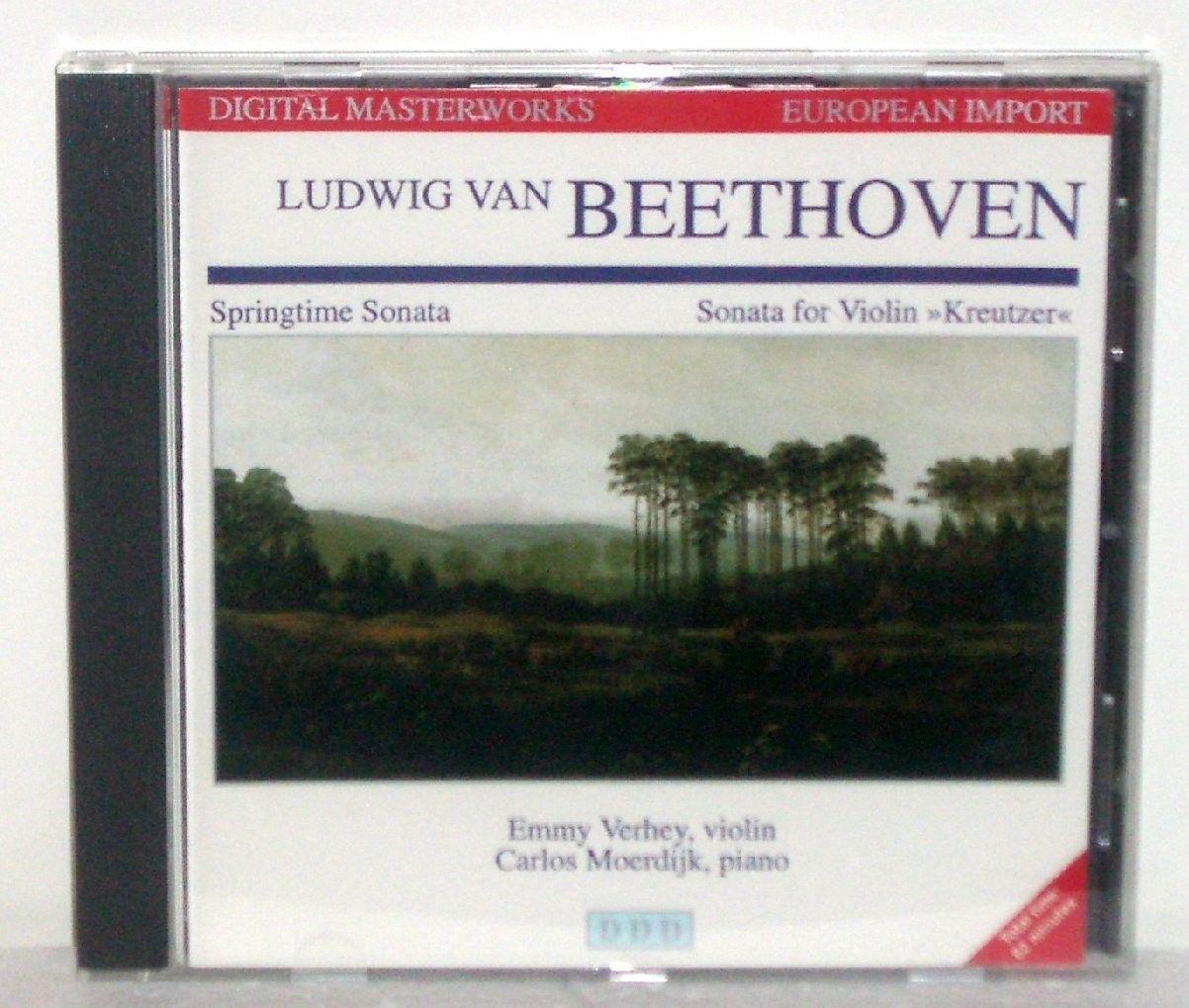 Beethoven: Springtime Sonata for Violin & Piano Moerdijk by Emmy Verhey CD