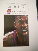 1995-96 Phoenix Suns vs. Los Angeles Lakers Ticket Stub (SKU2) - $9.49
