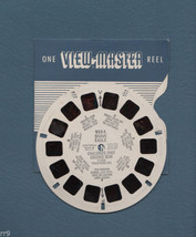 View-Master 1 Reel 1956 Brave Eagle Challenges Chief Crooked Bear #933A - $4.99