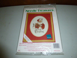 Vintage Needle Treasures The Spirit of Christmas Counted Cross Stitch Ki... - $39.00