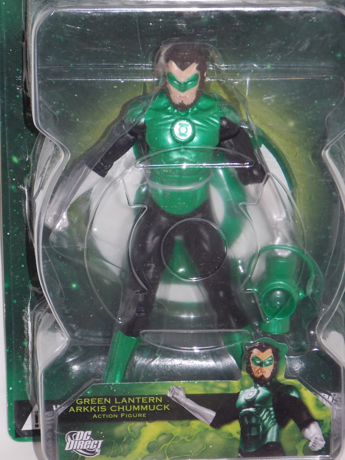 DC Direct Green Lantern Arkkis Chummuck Figure New In The Package
