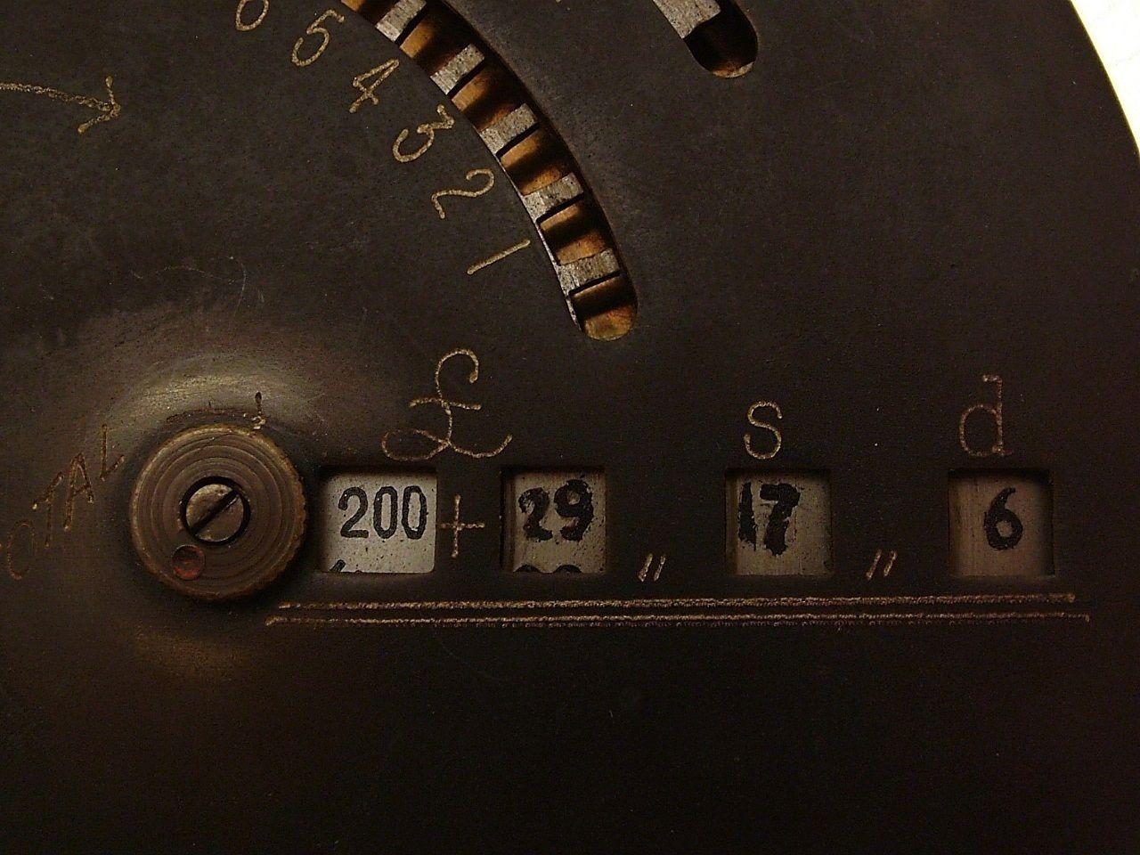 c1905 early BriCal Compound Addition British Calculator pre decimal LSD CLT776