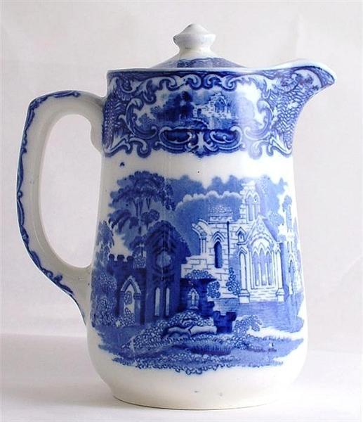George Jones Abbey Ware Hot Chocolate Pot
