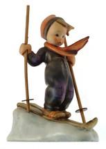 c1957 HUM59 Skier figurine Reinhold Unger - minor a/f with ski pole - NE... - $281.03