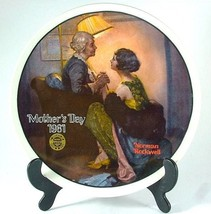 Knowles After the Party Norman Rockwell plate Mothers Day series Year 1981 - $32.00