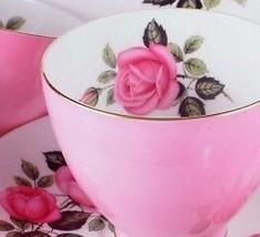 Adderley H882 Pink Roses Side Plate - $16.07