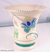c1956 Monkton Jacobean Honiton flower vase or decorative pot - $37.65