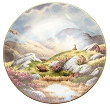 c1984 Royal Doulton Moorland Mist At Peace With Nature Elizabeth Gray Limited - $43.75
