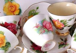 Royal Standard Roslyn Wheatcroft Roses Peace saucer only - $11.75