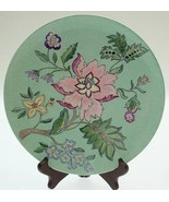 Royal Doulton hand painted design floral plate - CLTMS29 - $37.74