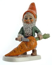 c1970 Goebel 501 Robbie the Vegetarian gnome figurine - 7.5 inches - NEG... - $109.67