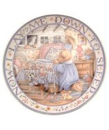 Royal Doulton Teddy Says His Prayers Linda Hill Griffith teddy plate CP2126 - $37.75