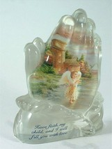 Hamilton Collection Faith Fills you with Love sculpted ornament - $25.56
