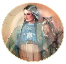 Franklin Mint Princess of Wisdom Marie Buchfink American Indian plate - ... - $40.82