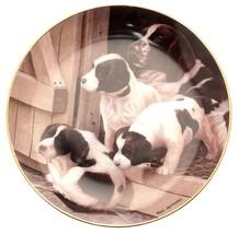 Franklin Mint Follow Me Nigel Hemming dog plate CP2216 - $32.26