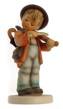 c1957 HUM210 Hummel Little Fiddler figurine - NEGR46 - $358.68
