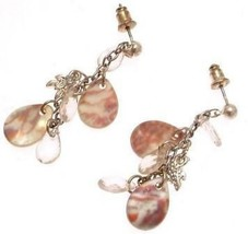 Drop Earrings shell effect design IAS391 - $11.71