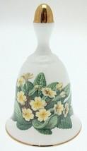 Danbury Mint Sumner Collection Wildflower Bells - Primrose Design - February - $25.89