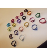 Wire Wrapped Knot Ring - Choose size and color - $10.00