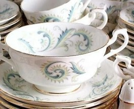 Royal Standard Garland Soup Coupe and Saucer - $28.74