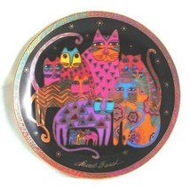 Franklin Mint Royal Doulton plate Fabulous Felines by Laurel Burch CP1947 - $87.69