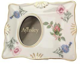 Aynsley Wild Tudor photo frame 5.5 x 4.5 inches AWT21 - $61.52
