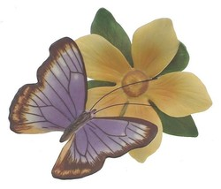 c1986 Franklin Mint Butterflies of the World Australian Beak Butterfly FP85 - $34.97