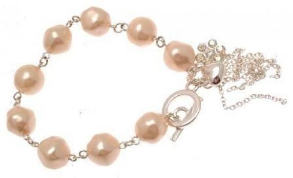 Fashion bracelet faux pearl bead design IAS255