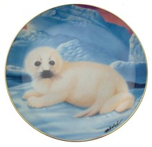 Franklin Mint On His Own Seal Pup plate by Wepplo - CP1767 - $32.05