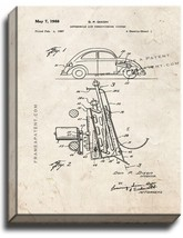 Automobile Air Conditioning System Patent Print Old Look on Canvas - $39.95+