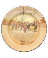 Royal Doulton D2716 Coaching Days Unscheduled Stop 10.5 inch plate CP2113 - $121.33