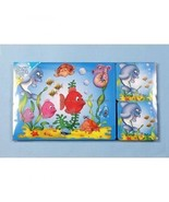 Four setting placemat and coaster set - underwater scene design - $14.61