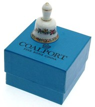 Coalport Ming Rose mini bell - 1.75 inches - comes boxed - NEGR99 - $16.88