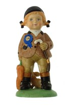 c1978 Franklin Porcelain Ann from England The UN Children figurine F359 - $48.53