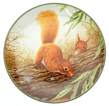 c1989 Royal Doulton Red Squirrels on a Branch Rollinsons Portraits of Nature - $38.29