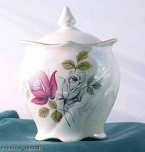 Royal Winton Grimwades Rose Lustre Marmalade Pot - $70.12