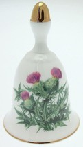 Danbury Mint Sumner Collection Wildflower Bells - Thistle Design - August - $25.89